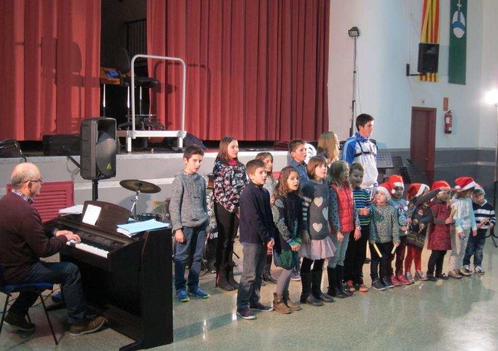 Audicions nadalenques de l'escola de musica de l'agrupacio musical de Godall