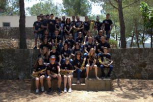 Foto de Grup dels integrants de la banda de música de Godall